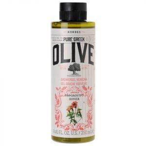 Korres Natural Pure Greek Olive And Verbena Shower Gel 250 Ml