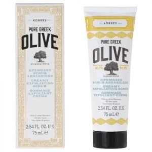 Korres Natural Pure Greek Olive Creamy Exfoliating Scrub 75 Ml