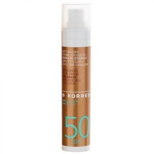 Korres Natural Red Grape Anti-Spot Face Sunscreen Spf50 50 Ml