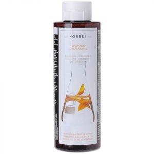 Korres Natural Sunflower And Mountain Tea Shampoo For Coloured Hair 250 Ml