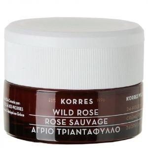 Korres Natural Wild Rose Brightening Day Cream For Normal / Dry Skin 40 Ml