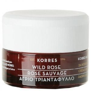 Korres Natural Wild Rose Brightening Day Cream For Oily / Combination Skin 40 Ml