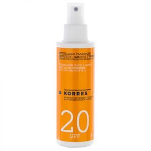 Korres Natural Yoghurt Face And Body Sunscreen Spf20 150 Ml