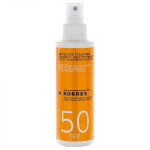Korres Natural Yoghurt Face And Body Sunscreen Spf50 150 Ml