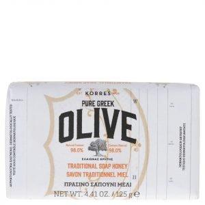 Korres Nature Pure Greek Olive And Honey Soap 125 G