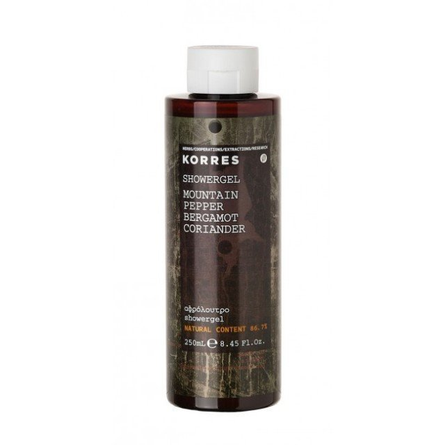 Korres Showergel Mountain Pepper 250 ml