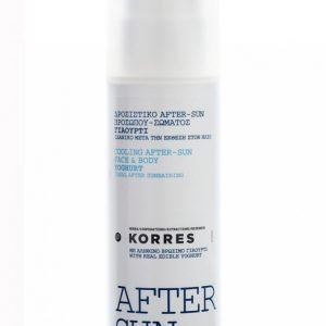 Korres Youghurt Cooling Body After Sun Gel 150 Ml Aurinkovoide