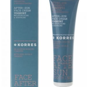 Korres Youghurt Cooling Face After Sun 40 Ml Aurinkovoide