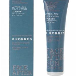 Korres Youghurt Cooling Face After Sun 40 Ml Aurinkovoide