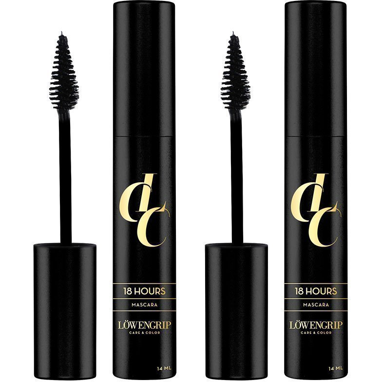 Löwengrip Care & Color 18 Hours Mascara Duo 2 x Black 14ml
