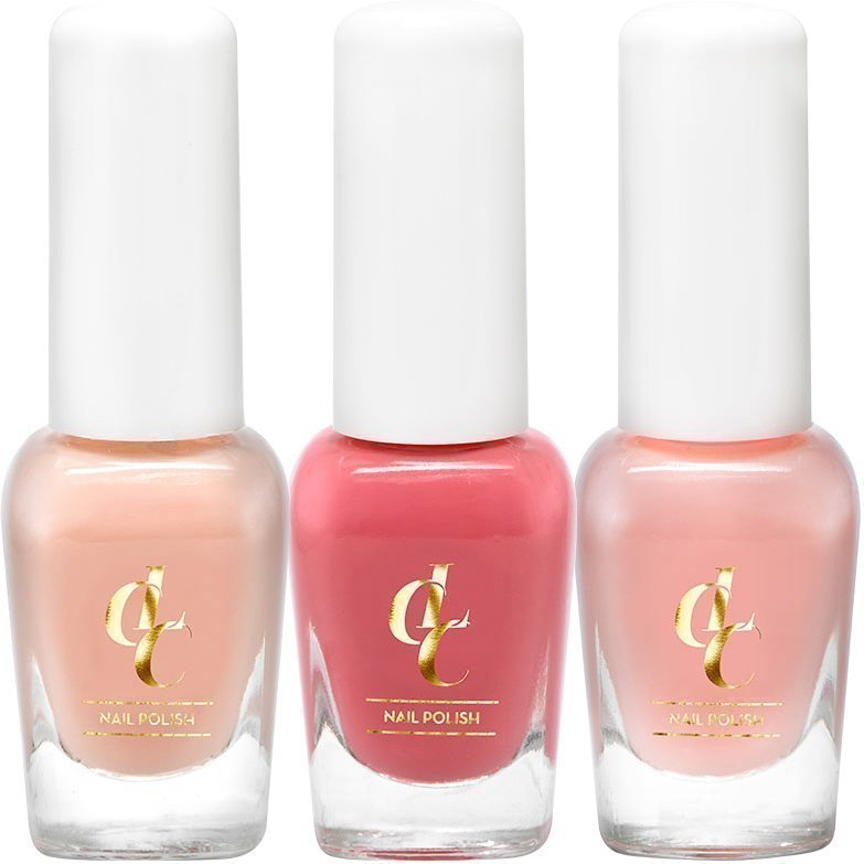 Löwengrip Care & Color LCC Nail Colour Trio 3 x 8ml