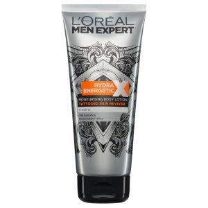 L'oréal Paris Men Expert Hydra Energetic Tattoo Reviver Body Lotion 200 Ml