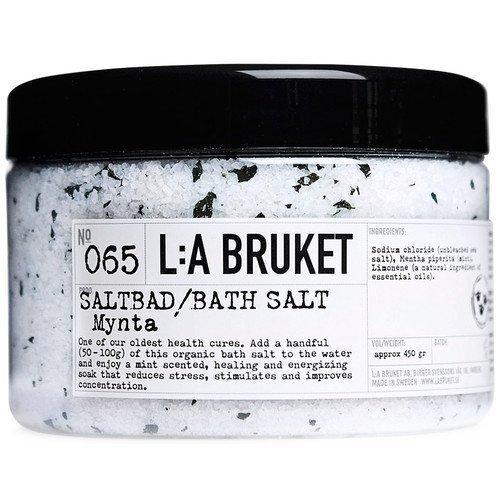 L:A Bruket Bath Salt Mynta