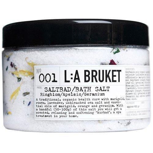 L:A Bruket Bath Salt Ringblom/Apelsin/Geranium