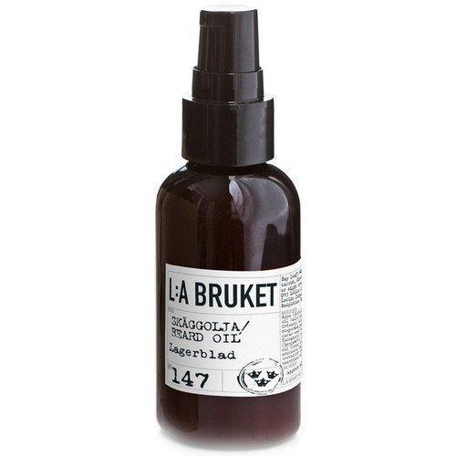 L:A Bruket Beard Oil Lagerblad