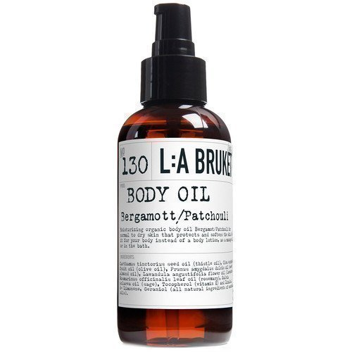 L:A Bruket Body Oil Bergamott/Patchouli