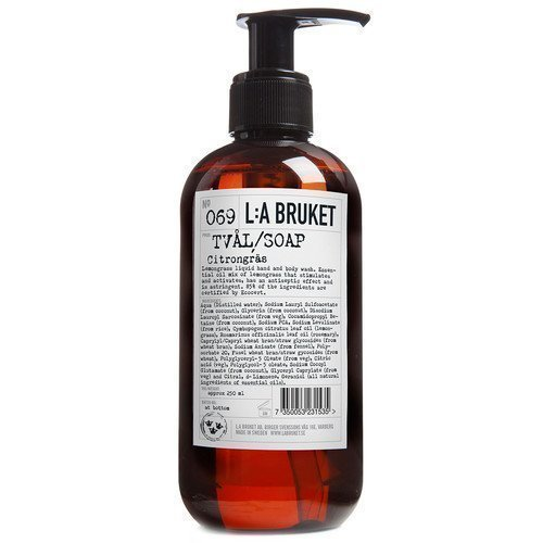 L:A Bruket Liquid Soap Citrongräs 250 ml