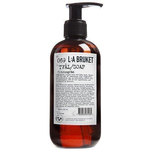 L:A Bruket Liquid Soap Citrongräs 450 ml