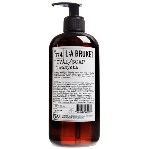 L:A Bruket Liquid Soap Gurkmynta 450 ml