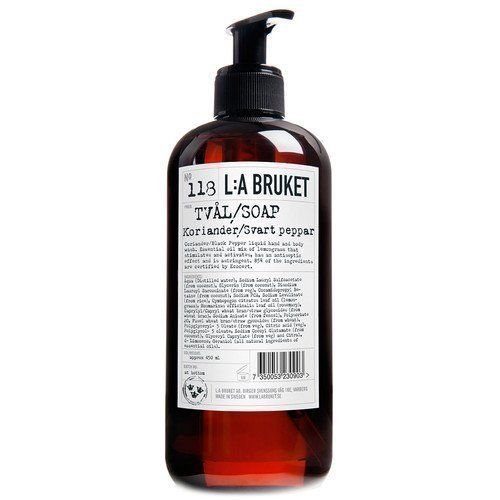 L:A Bruket Liquid Soap Koriander/Svartpeppar 450 ml