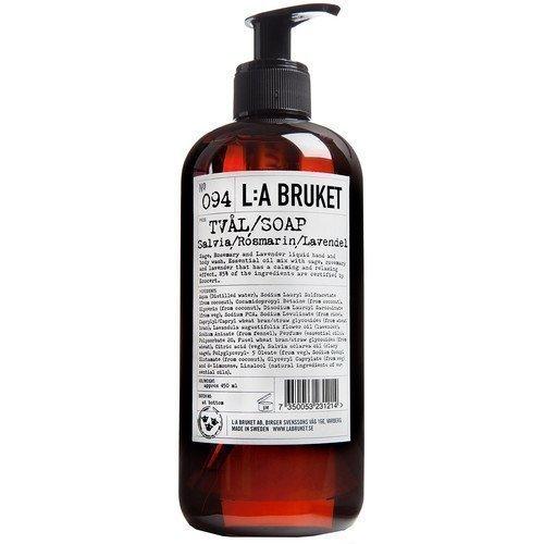 L:A Bruket Liquid Soap Salvia/Rosmarin/Lavendel 450 ml