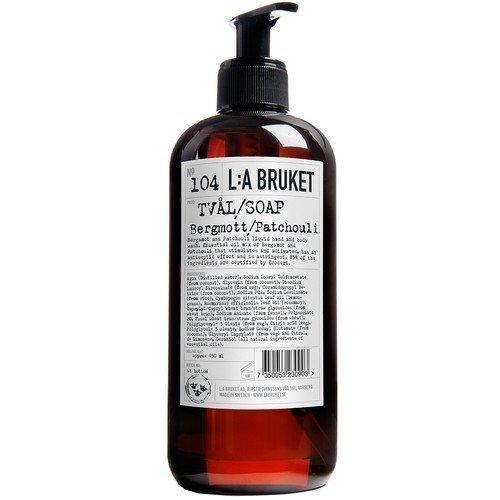L:A Bruket Liquid Soapl Bergamott/Patchouli 450 ml