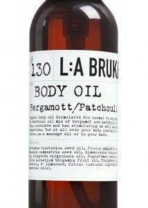 L:A Bruket Nr.130 Bodyoil Bergamotti/Patsuli 120 ml