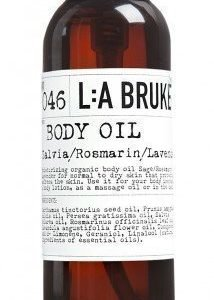 L:A Bruket Nr.46 Bodyoil Salvia/Rosmariini/Laventeli 120 ml