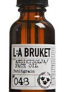 L:A Bruket Nr.48 Kasvoöljy Petitgrain 30 ml
