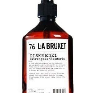 L:A Bruket Nr.76 Astianpesuaine Sitruunaruoho/Rosmariini 500 ml