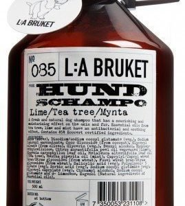 L:A Bruket Nr.85 Koirashampoo Lime/Tea-Tree/Minttu 500 ml