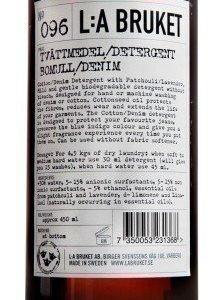 L:A Bruket Nr.96 Pesuaine Puuvilla/Denim 450 ml