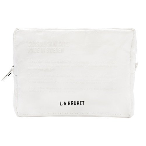 L:A Bruket Toilet Bag White