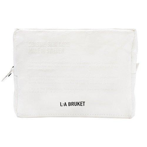 L:A Bruket Toilet Bag White