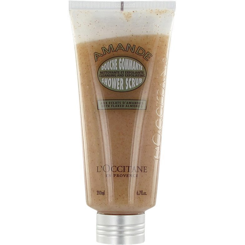 L'Occitane Almond Shower Scrub 200ml