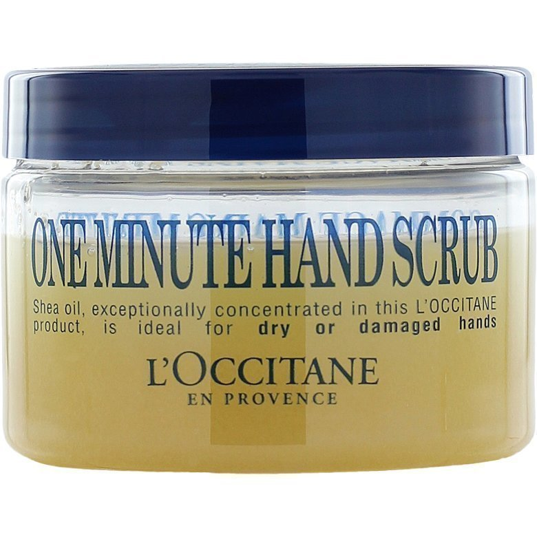L'Occitane Shea Butter One Minute Hand Scrub 100ml