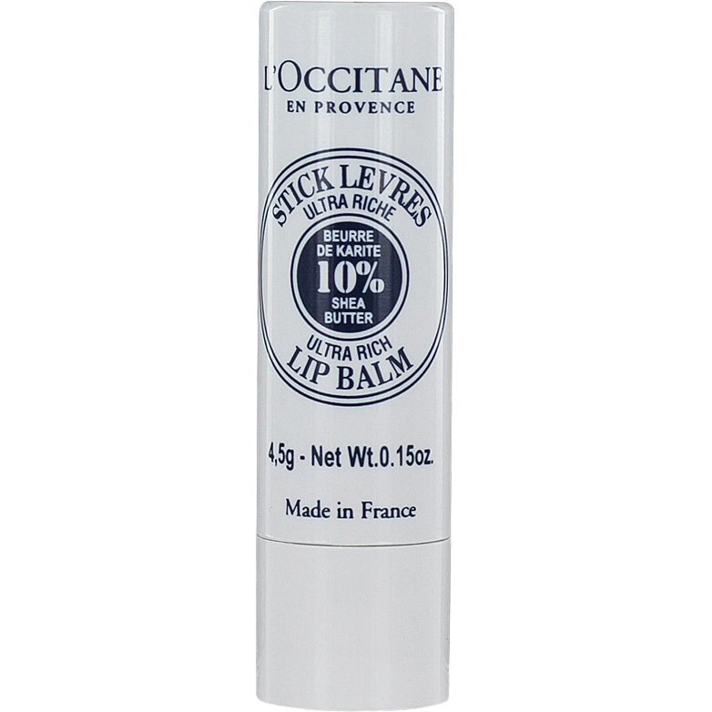 L'Occitane Shea Butter  Ultra Rich Lip Balm 4