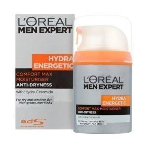 L'Oréal Men Expert Comfort Max Kosteusvoide Kuivalle Ja Herkälle Iholle 50 ml