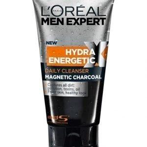 L'Oréal Men Expert Hydra Energetic X Magnetic Charcoal Puhdistusgeeli 150 ml