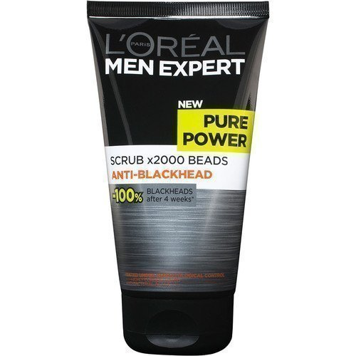 L'Oréal Men Expert Pure Power Scrub x2000 Beads Anti-Blackhead