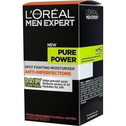 L'Oréal Men Expert Pure Power Spot Fighting Moisturiser Anti-Imperfections