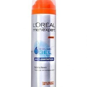 L'Oréal Men Expert Shaving Gel Anti Irritation Parranajogeeli