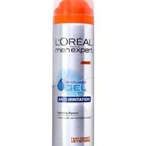L'Oréal Men Expert Shaving Gel Anti Irritation Parranajogeeli