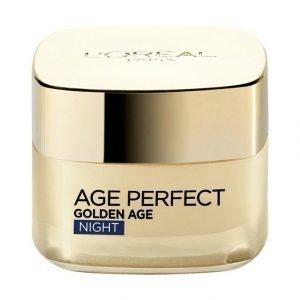 L'Oréal Paris Age Perfect Golden Age Night Cream Yövoide 50 ml