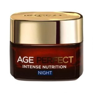 L'Oréal Paris Age Perfect Intense Nutrition Night Yövoide 50 ml
