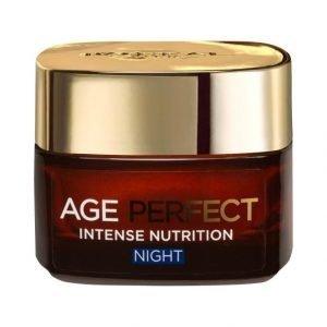 L'Oréal Paris Age Perfect Intense Nutrition Night Yövoide 50 ml