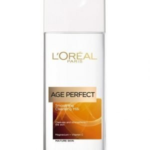 L'Oréal Paris Age Perfect Smoothing Cleansing Milk Puhdistusemulsio 200 ml