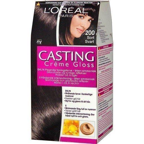 L'Oréal Paris Casting Crème Gloss 200 Ebony Black
