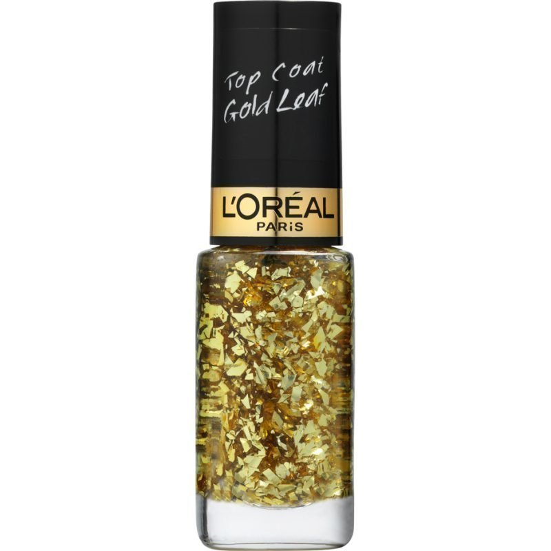 L'Oréal Paris Color Riche Le Vernis Top Coat 920 Gold Leaf 3ml