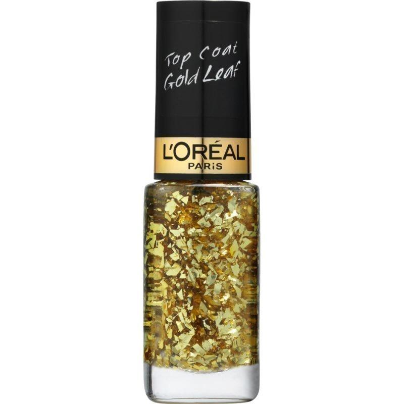 L'Oréal Paris Color Riche Le Vernis Top Coat 920 Gold Leaf 3ml